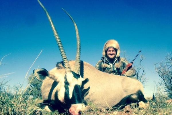Gemsbuck Hunting