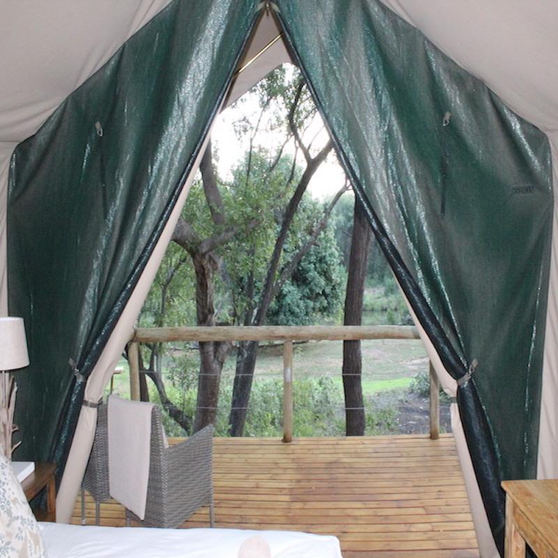 Rukiya tent view