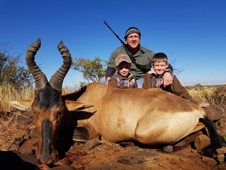 Red Hartebeest Hunting Gallery